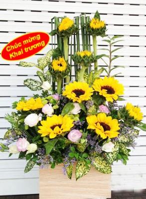 Ý nghĩa hoa tặng khai trương