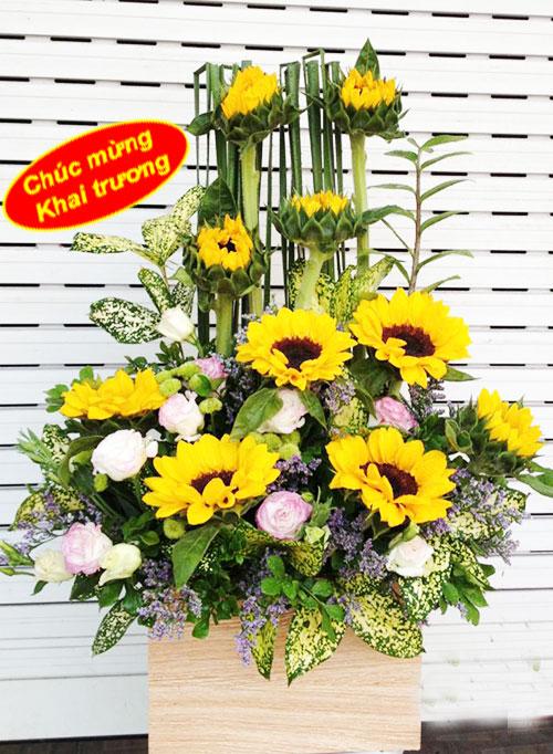 Hoa tặng khai trương  đẹp – Thăng tiến