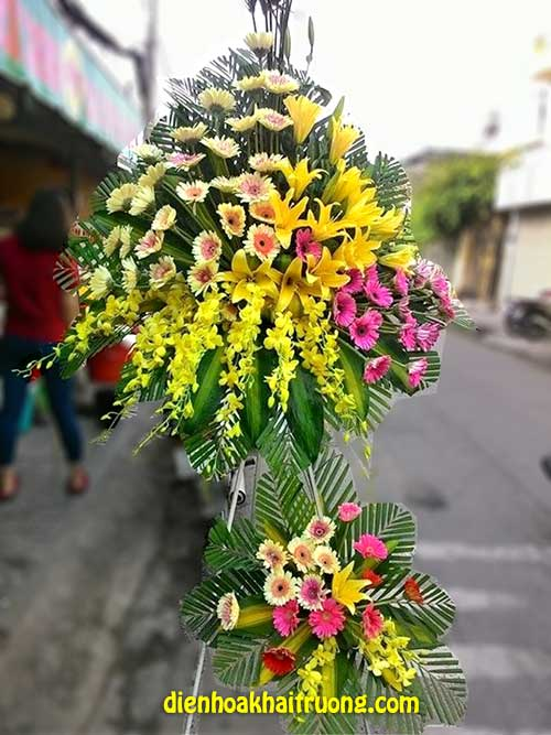 Hoa khai trương đẹp – phú quý và tài lộc
