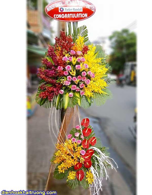 Hoa khai trương tươi đẹp – giao hoa nhanh